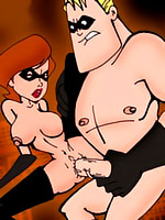 Hot porn comics with nasty Incredibles fuck in heat.